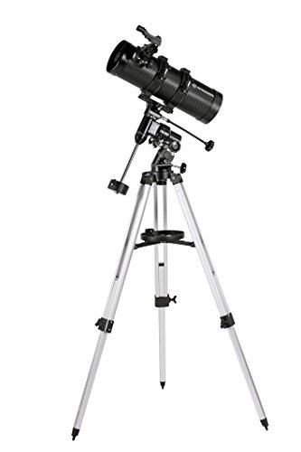 Bresser Spiegelteleskop Pluto EQ 114/500 mit Smartphone Adapter -