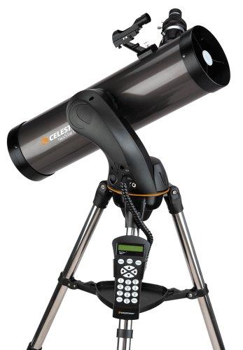 Celestron NexStar 130 SLT – computergesteuertes 130/650 Newton-Spiegelteleskop -