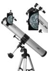 Seben 900-76 EQ2 Reflektor Teleskop + Smartphone Adapter DKA5 + Zubehör Paket -