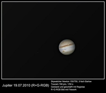 Skywatcher Teleskop N 150/750 Explorer BD NEQ-3 -