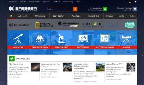 bresser website