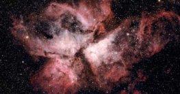 teleskop beobachtung des Carina nebel